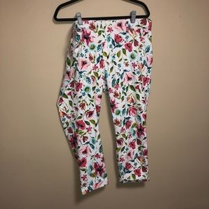 Time and Tru Pants - Time And Tru Plus Size Floral Capri Jeggings